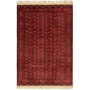 6' 8 x 9' 9 Torkaman Oriental Rug