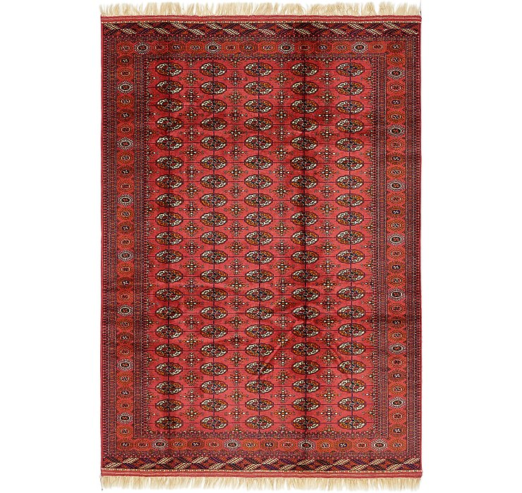 6' 9 x 9' 10 Torkaman Oriental Rug
