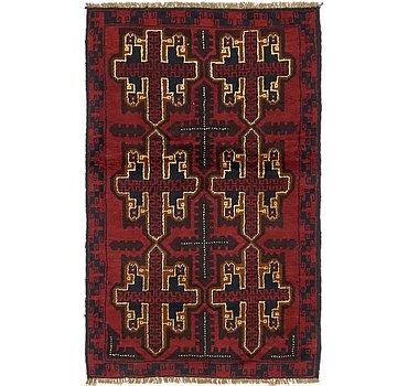 91x140 Balouch Rug