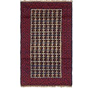 Link to 2' 9 x 4' 6 Balouch Persian Rug