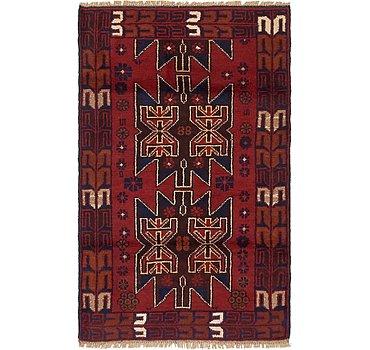 81x142 Balouch Rug