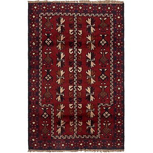HandKnotted 2' 10 x 4' 5 Balouch Persian Rug