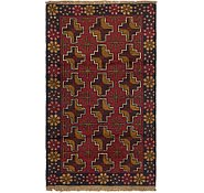Link to 2' 10 x 4' 9 Balouch Persian Rug
