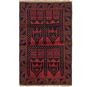 Link to 3' x 4' 9 Balouch Persian Rug