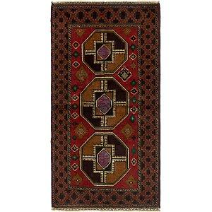 Unique Loom 3' 6 x 6' 10 Balouch Persian Rug