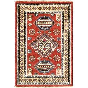 2' x 3' Kazak Rug