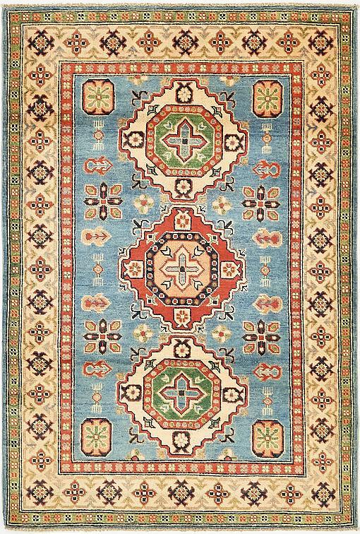 Blue 4 X 6 Kazak Rug Oriental Rugs Esalerugs