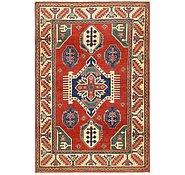 Link to Unique Loom 4' x 6' Kazak Rug