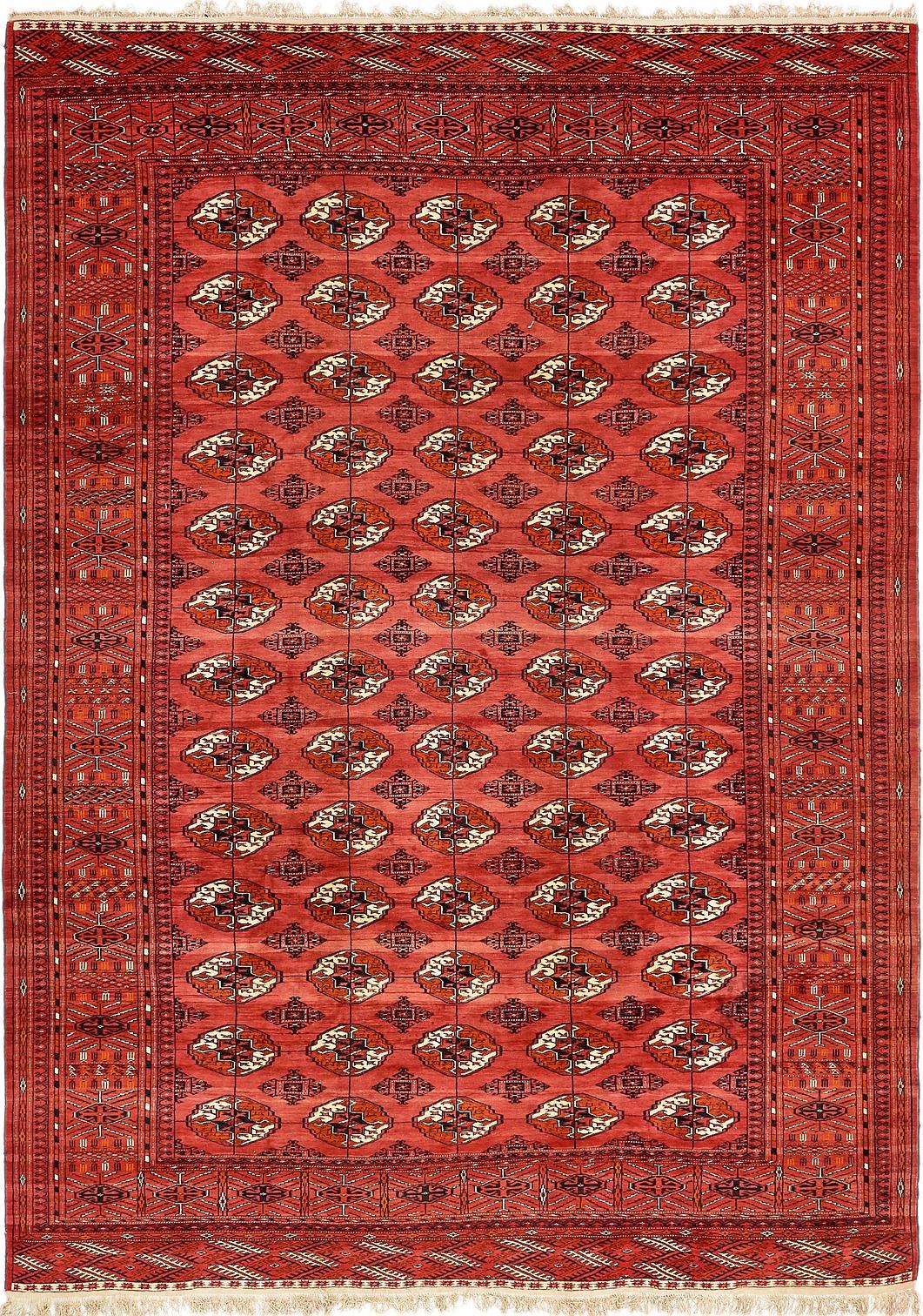 245cm x 343cm torkaman oriental rug