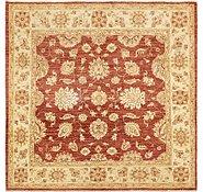 Link to 5' 8 x 5' 9 Peshawar Ziegler Square Rug