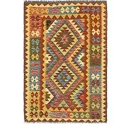 Link to Unique Loom 3' 6 x 5' 2 Kilim Maymana Rug