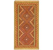 Link to Unique Loom 3' 4 x 6' 6 Kilim Maymana Rug