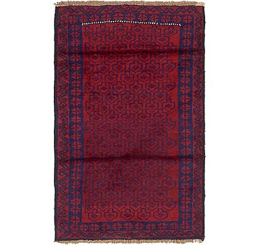 86x140 Balouch Rug
