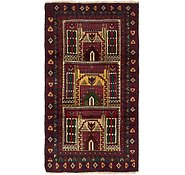 Link to 2' 9 x 5' 2 Balouch Persian Rug