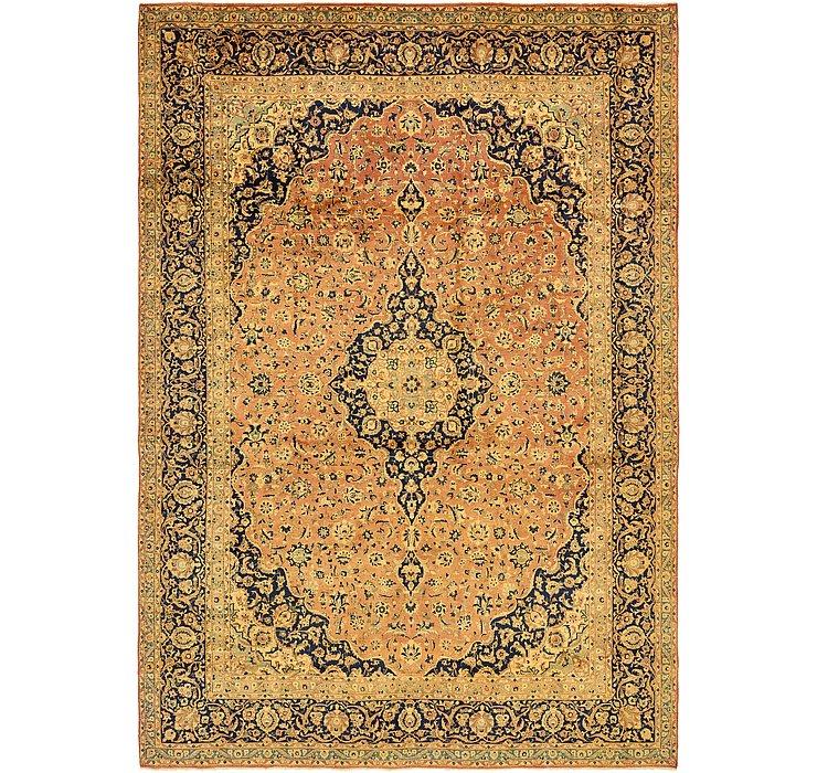 9' 6 x 13' 6 Kashan Persian Rug