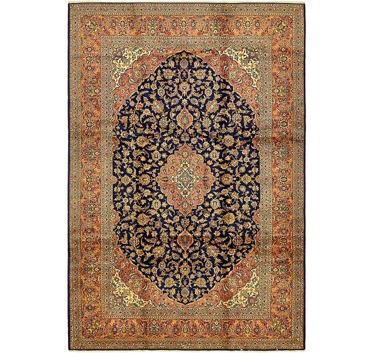 8' 7 x 12' 9 Kashan Persian Rug