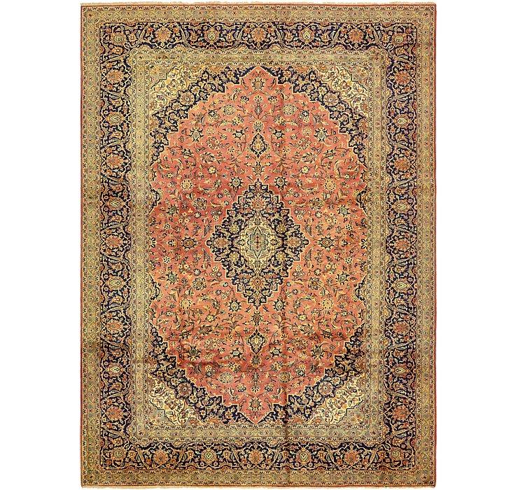 9' 5 x 13' Kashan Persian Rug