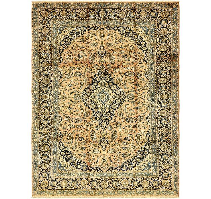 257cm x 345cm Kashan Persian Rug