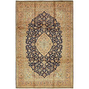 8' 2 x 12' 4 Kashan Persian Rug