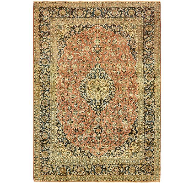 9' 5 x 13' 5 Kashan Persian Rug