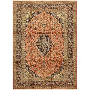 9' x 12' 5 Kashan Persian Rug