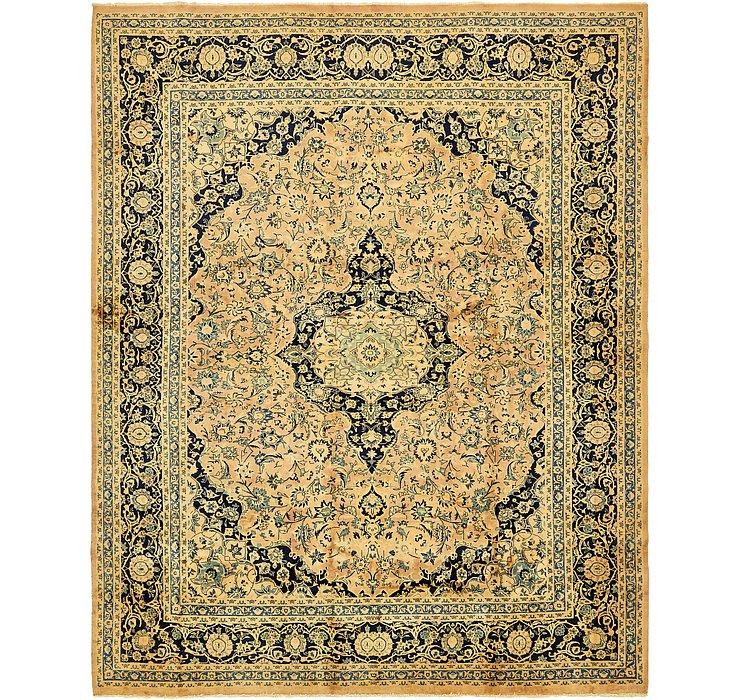 9' 10 x 12' 6 Kashan Persian Rug