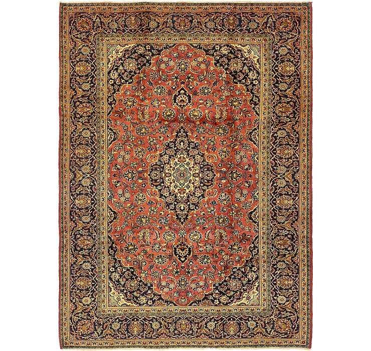 8' x 11' 3 Kashan Persian Rug