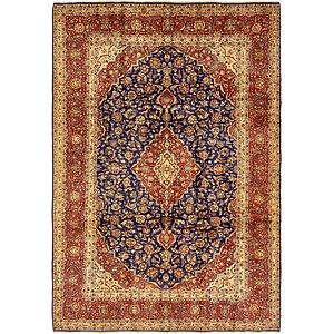 9' 2 x 11' 10 Kashan Persian Rug