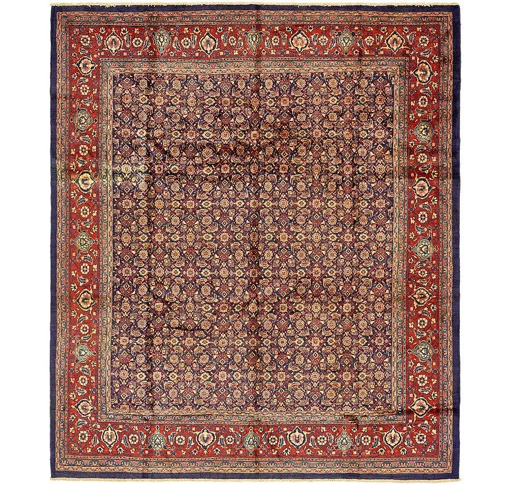 10' 6 x 12' 4 Mahal Persian Rug