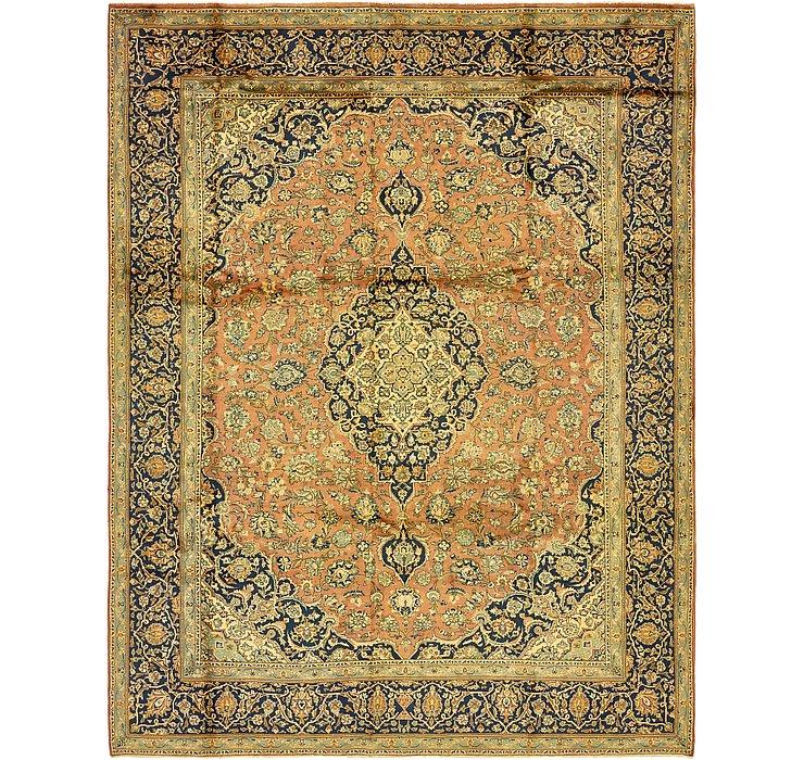 9' 7 x 12' 6 Kashan Persian Rug