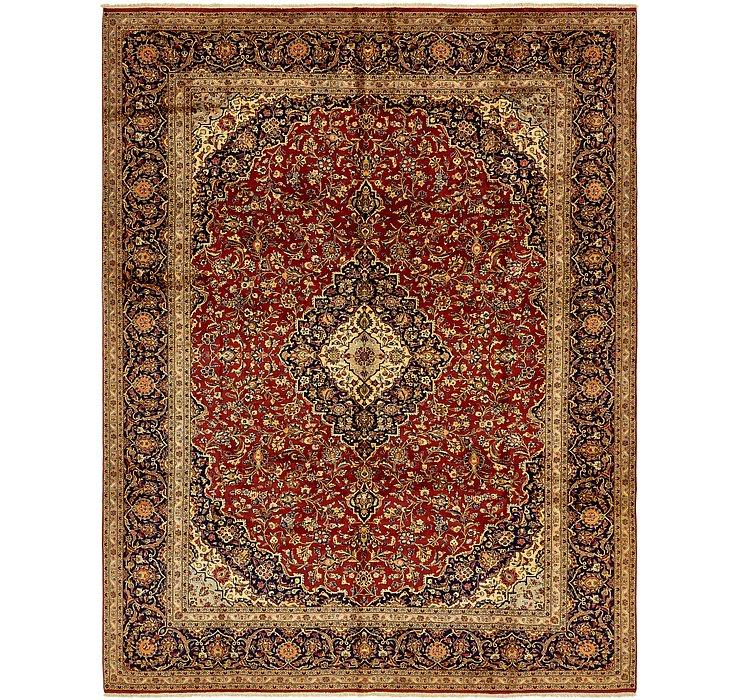 10' x 13' Kashan Persian Rug