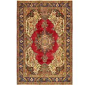 Link to 7' x 10' 6 Tabriz Persian Rug
