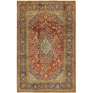 6' 6 x 10' 3 Kashan Persian Rug