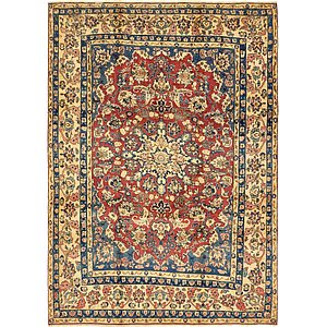 Unique Loom 8' x 11' 3 Mahal Persian Rug