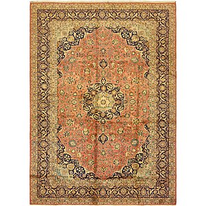 Link to 292cm x 395cm Kashan Persian Rug page