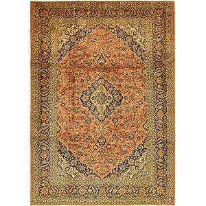 9' 10 x 12' 4 Kashan Persian Rug
