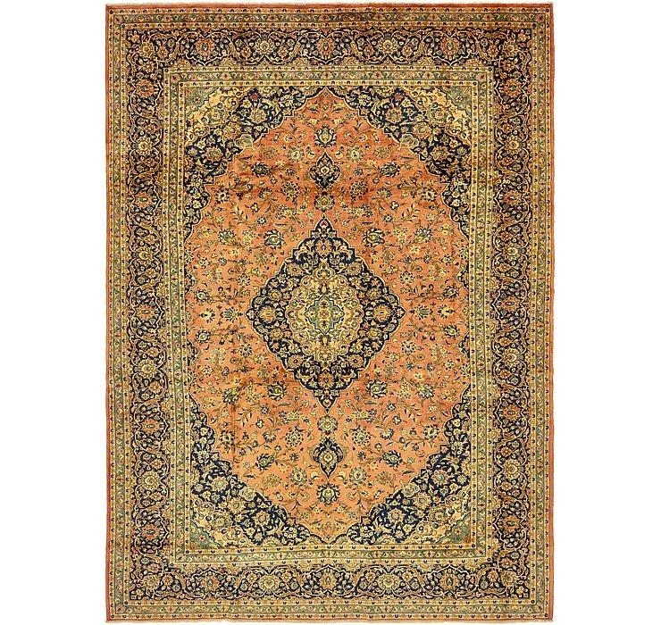 9' 10 x 13' 7 Kashan Persian Rug
