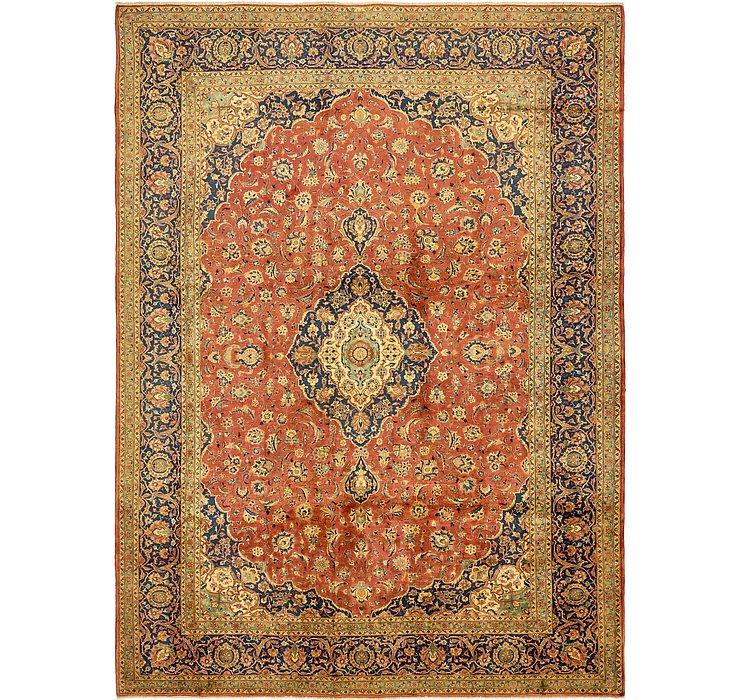 9' 8 x 13' 3 Kashan Persian Rug