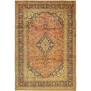 8' x 12' Kashan Persian Rug