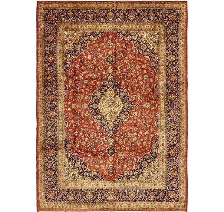 9' 8 x 13' 6 Kashan Persian Rug