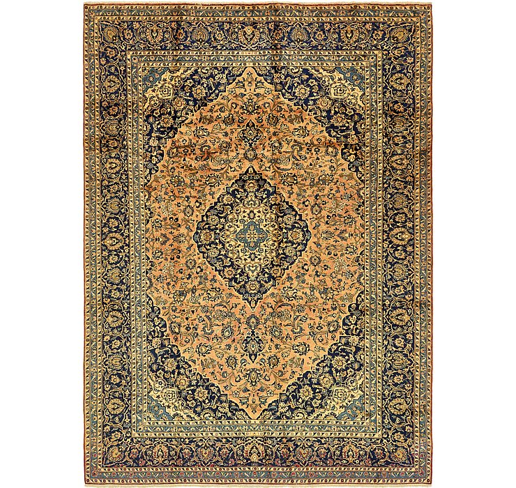 HandKnotted 10' x 13' 7 Kashan Persian Rug