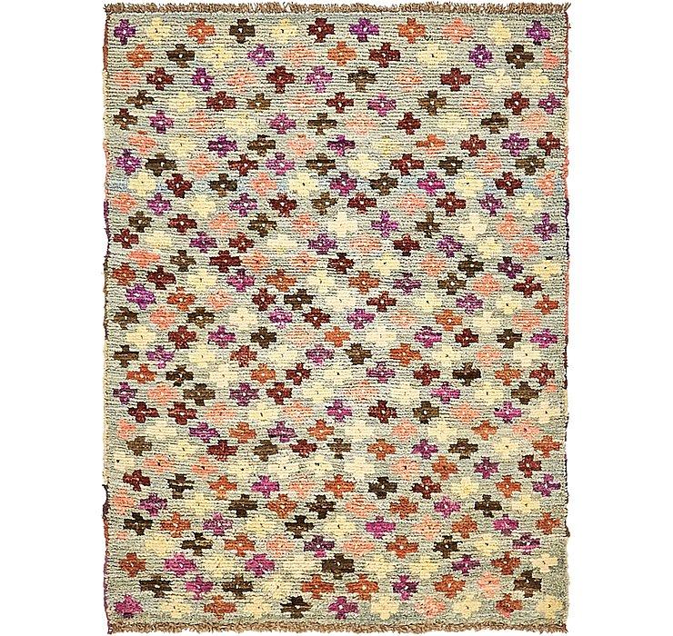 97cm x 127cm Ghashghaei Persian Rug