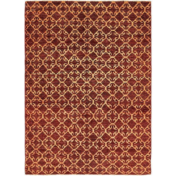 4' 8 x 6' 4 Ikat Oriental Rug