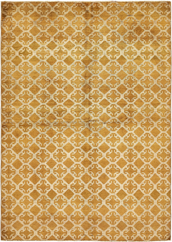 Gold 5 6 X 7 10 Ikat Oriental Rug Rugs Com