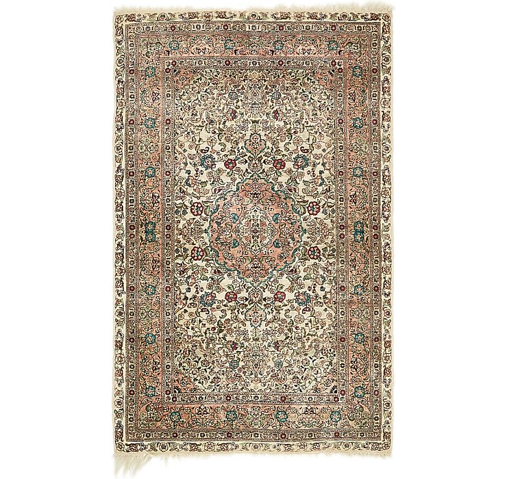 2' 7 x 4' Hereke Oriental Rug