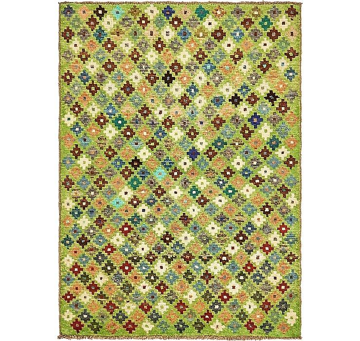 3' 2 x 4' 7 Ghashghaei Persian Rug