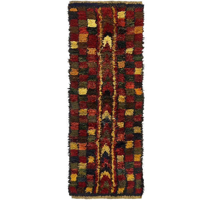 HandKnotted 3' x 8' 9 Moroccan Runner Rug