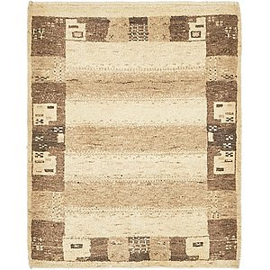 Unique Loom 2' x 2' 7 Kashkuli Gabbeh Rug