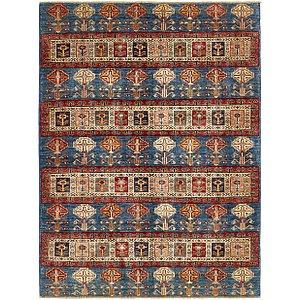 Unique Loom 4' x 6' 8 Kazak Rug