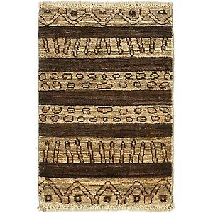 Unique Loom 1' 4 x 2' 2 Modern Ziegler Rug